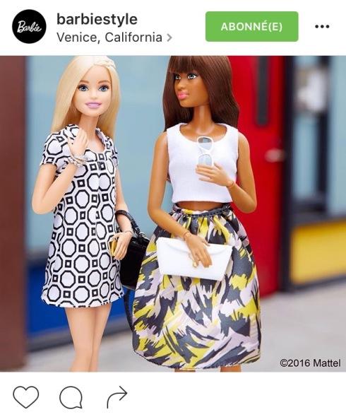 barbie style insta