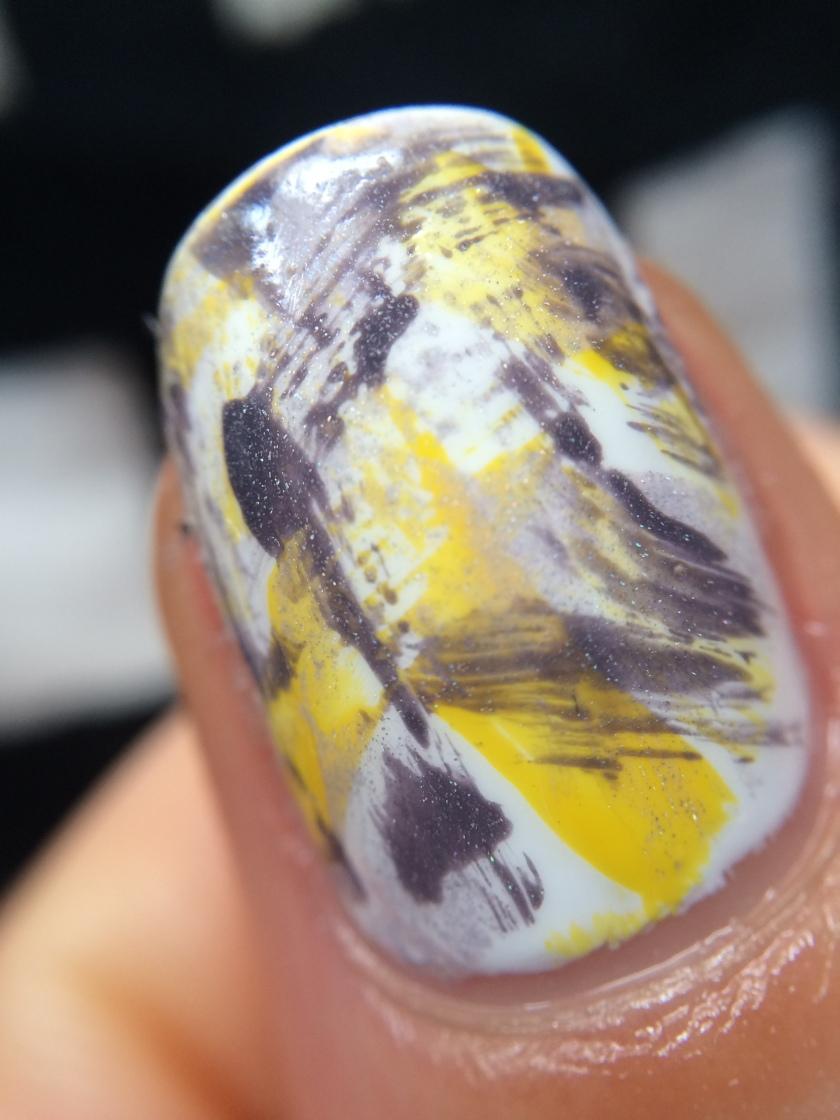 nail art dry brush 2