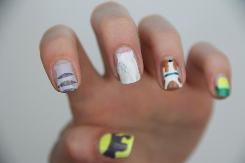 comme des betes nail art