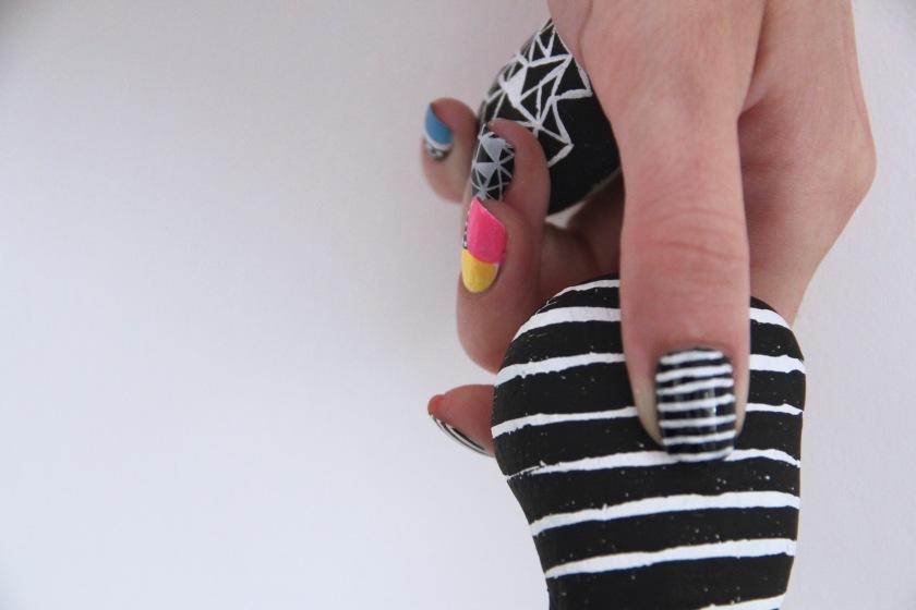 nail art mariniere