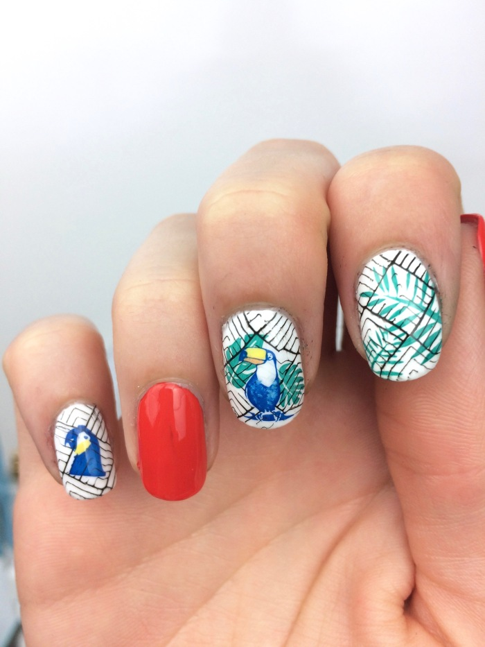 nail art stamping winstonia