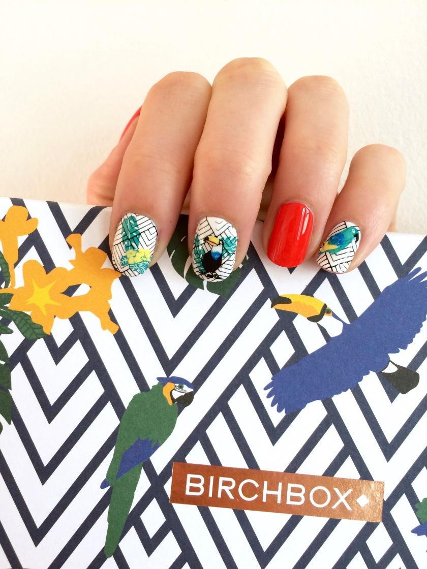 nail art viva brazil