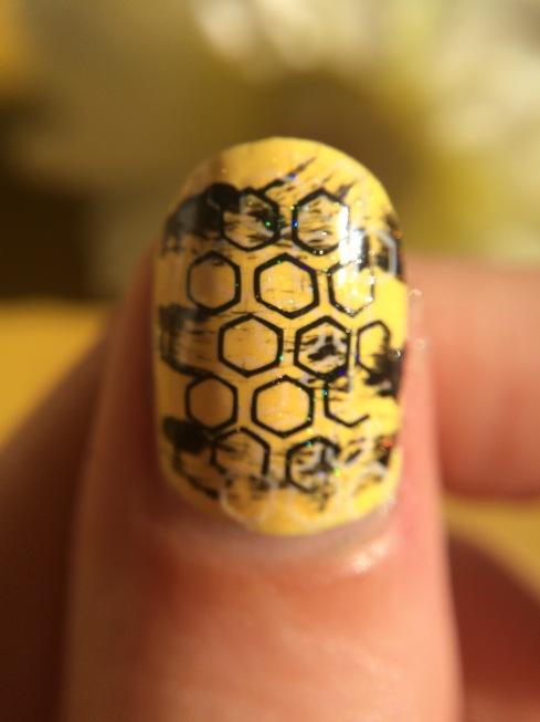 nail-art-jaune