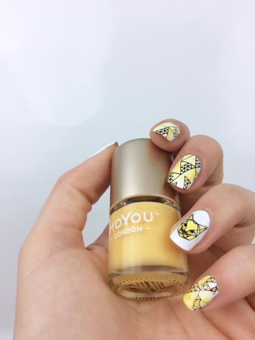 nailart-jaune