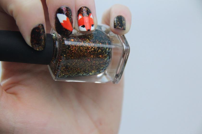 nail-art-fox