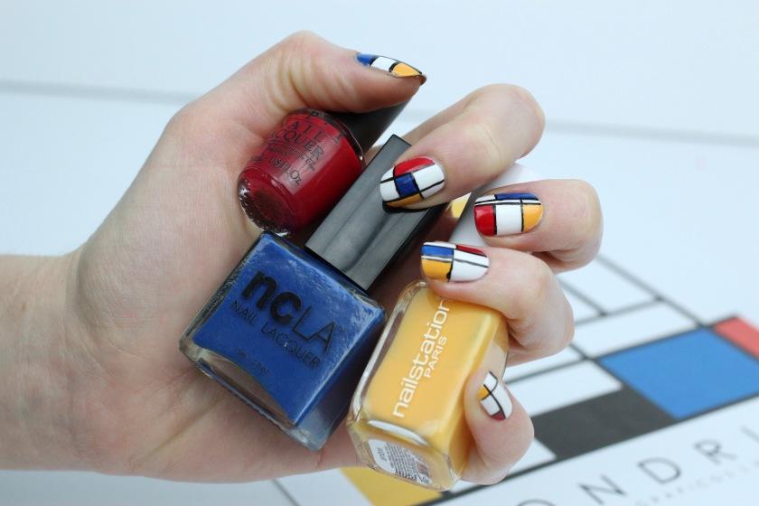 nail-art-mondrian