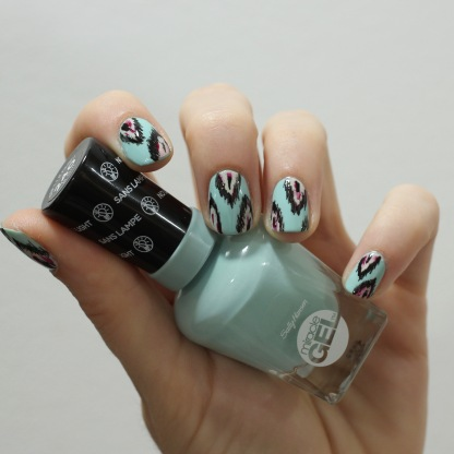 b girl sally hansen ikat